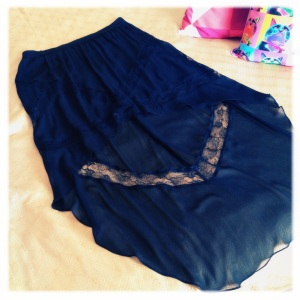 Assymetric skirt, Topshop, reduced to £10 on sale